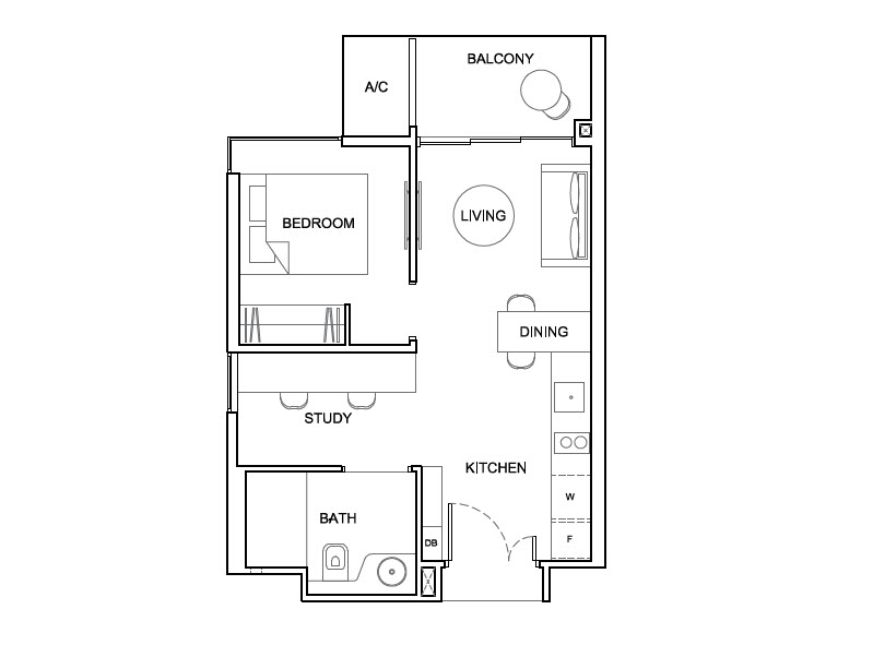 High park residences floor plans 1 bedroom condo design