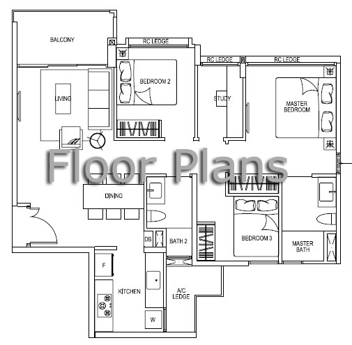 High Park Residences Floor Plans